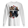 Horror Movie Characters Water Mirror Reflection Men's Long Sleeved