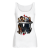 Horror Movie Characters Water Mirror Reflection Women's Tank Top