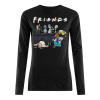 Cartoon Characters Netflix Friends Tv Series Women's Long Sleeved