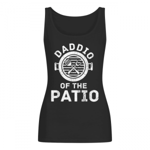 Daddio Of The Patio Barbecue Party Fathers Day Women's Tank Top