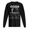 Oasis 28th Anniversary 1991-2019 Thank You For The Memories Men's Long Sleeved