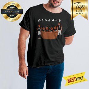 Official Cincinnati Bengals Friends Tv Show Shirt