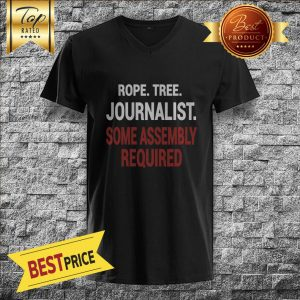 Rope Tree Journalist Some Assembly Required V-neck