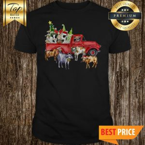 Official Cow and Car Christmas shirt