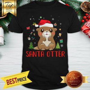 Official Santa Otter Christmas Shirt