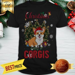 Official Christmas Kidding Corgis Shirt