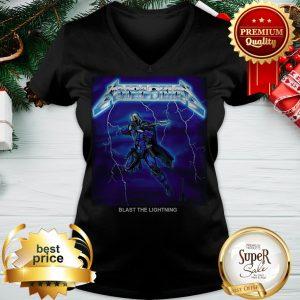 The Mandalorian Blast The Lightning Metallica V-neck