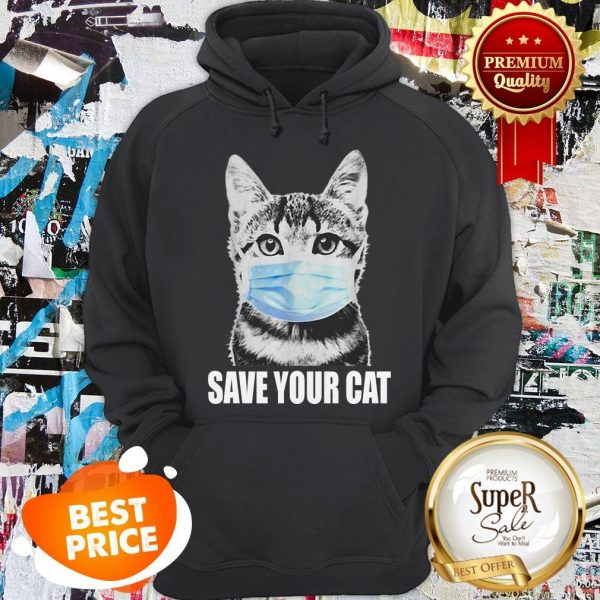 Official Save Your Cat Coronavirus Hoodie