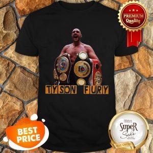 Official Tyson Fury Champion Shirt