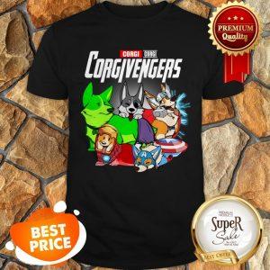 Pembroke Welsh Corgi Corgivengers Avengers Endgame Shirt