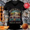 Nice Upper Class Trailer Trash Camping Vintage V-neck