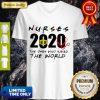 Pretty Nurses 2020 The Ones Who Saved The World V-neck