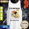 Nice Cycling Man Mask 2020 Quarantined Coronavirus Tank Top