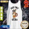 Terrier Good Times Tan Lines Tank Top