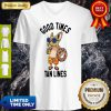 Terrier Good Times Tan Lines V-neck
