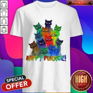 Nice Cats Happy Purride Shirt