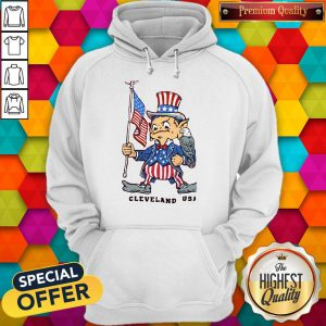 Perfect Independence Day Flag Eagles Cleveland USA Hoodie