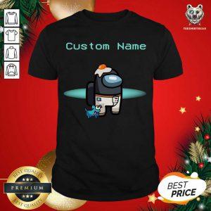 Among Us Custom Name Shirt - Design By Teeshirtbear.com
