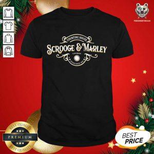Scrooge And Marley Counting House Christmas Ebenezer Shirt - Design By Teeshirtbear.com