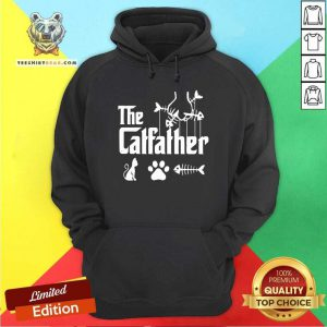 The Catfather Cat Paw Fish Hoodie